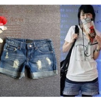 2014 china new Denim Shorts Women Fashion Ladies Jean Shorts,Denim Pants with Casual Short