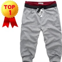 2014 china wholesale supplier Men Casual Sports Shorts/ loose male trousers/Harem shorts,4 Color,S-XXL, garment pants stock lot