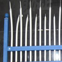 European Metal Hot-galvanized Palisade Fence