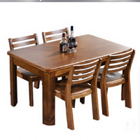 Solid Wood Dining Table and Chair Furniture, Home Furniture