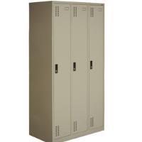 3 door clothing steel locker/wardrobe