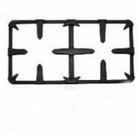 Cast iron pan support with matt enamel,OEM gas cooker grid