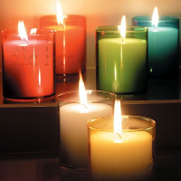 Unity candle and candle holders