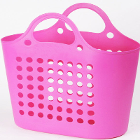 Environmental plastic fruit basket
