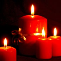Christmas candle/Tealight candle
