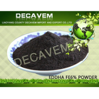 EDDHA FE6% high efficiency, wholesale organic fertilizer, powder EDDHA-FeNa O:O=1.8(30%): 26~28%, treat Yellow-leaf Disease