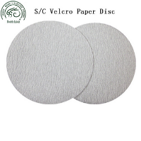 Special Top-Coat Silicon Carbide Non-loading Hook and Loop/velcro sandpaper disc