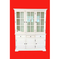 New Swedish Hutch Glass Cabinet--the Latest Style--Hot sales!!