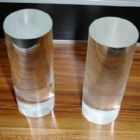 High resistance clear transparent quartz glass stick