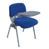 Bule tube school furniture cushion student chair