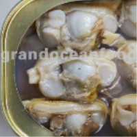 canned baby clam in brine
