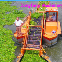 China Dongfang Supply River Vessel Cleaning Machine Water Hyacinth Harvester
