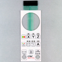 LED Membrane Keypad For industrial instrument