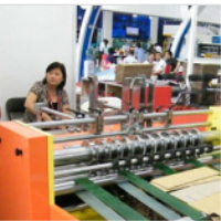 Corrugated clapboard making machine , full automatic partition slotting machine for paperboard