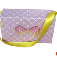 purse shape set rigid box