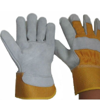 Men's Working Gloves,Safety gloves,Split Cowhide Leather Gloves,Leather work gloves ,Work Gloves,