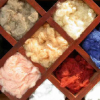 100% recycled polyester fibre