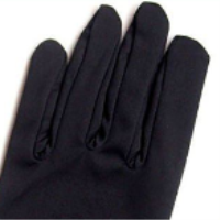 Black Microfiber Cleaning Gloves