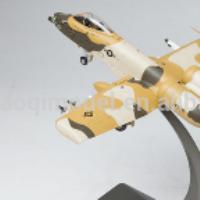 A-10A Thunderbolt II attack aircraft model 1:48 die cast plane model
