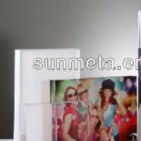 sublimation crystal acrylic photo frame