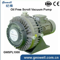 Chinese supplier GWSPL1000 Oil free Scroll Vacuum Pump