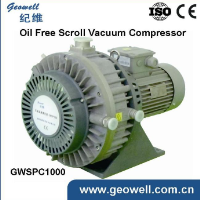 GWSPC100 Oil free vacuum pump price