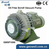 GWSP1000 Oil free Scroll quiet vacuum pump