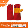 High quality cow leather safety welding glove