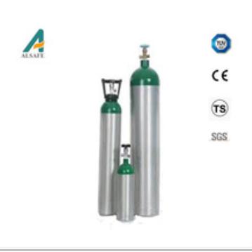Hospital oxygen cylinder aluminum hospital oxygen cylinder