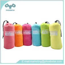 Embroidery LOGO microfiber swimming towel