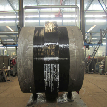 Low Pressure DN2400 Water Monolithic insulating joints Pipe Fittings