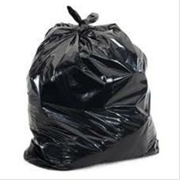 160 litre  Black Garbage Bags