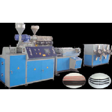 70kg/h PVC extruder machine,plasctic machine