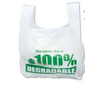 Biodegradable Vest Carrier Bags w/ EN13432 Certificate (No.: 7P0373)