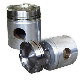 Composite Piston with Steel Crown and Aluminum Skirt for 7FDL Diesel Engine