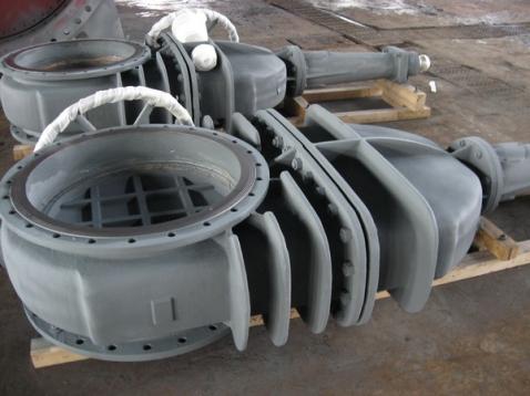 gas gate valve