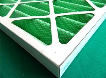 Fiberglass air cleaner filters filter carboard for generators