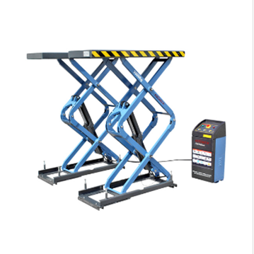 Scissor lift floor level installation undergrounded 3,0t 380V