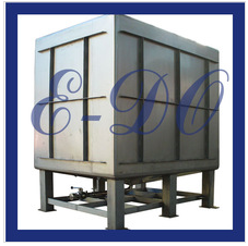 1000L removable electrolyte stainless steel IBC tote tank