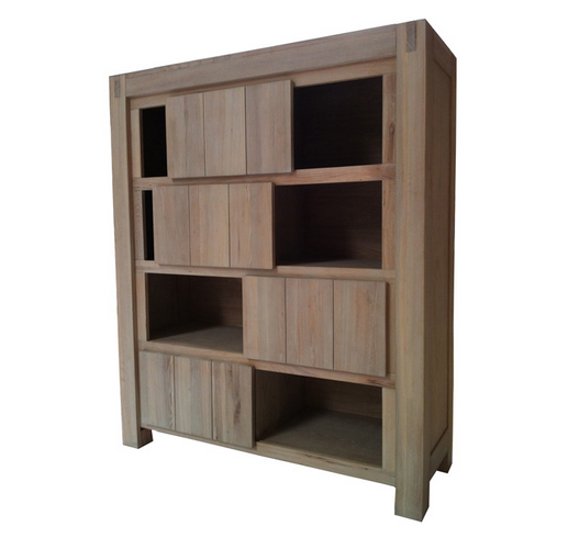 4 Sliding Door Bookcase/Showcase/Gradevin