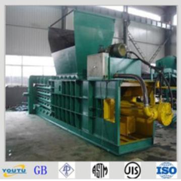 Horizontal packing machine hydraulic metal scrap baling press