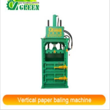 Hot Sale Hydraulic Vertical paper baling machine