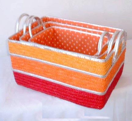 Exquisite crochet foursquare 8x8 empty gift box craft