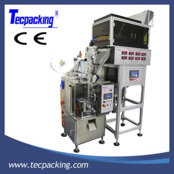 Automatic pyramid tea bag packing machine(Triangle bag)