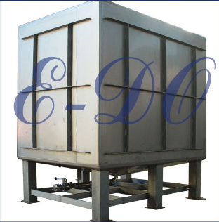 500 Liter 304 food used tote container tank