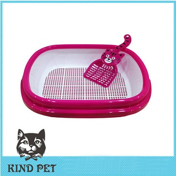 2014 hot products high quality plastic cat litter tray cat toilet