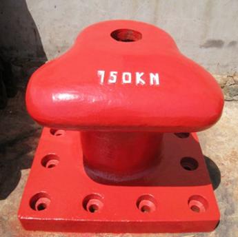Iron casting marine bollard bitt tooling parts