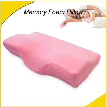 Bedroom pillow sleeping pillow Ergonomic Shape memory foam pillow