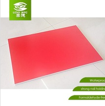 UV Coating WPC Board for furniture/wardrobe/cabinet, eco than mdf