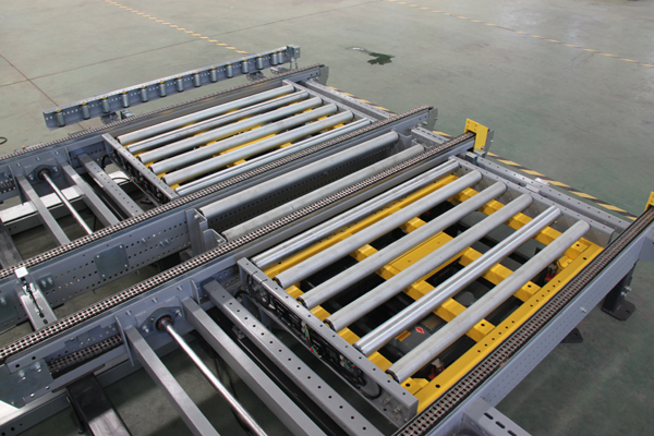 Empty plate conveyor
